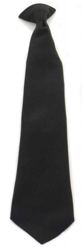 Click Workwear COTBLK Clip On Tie Black