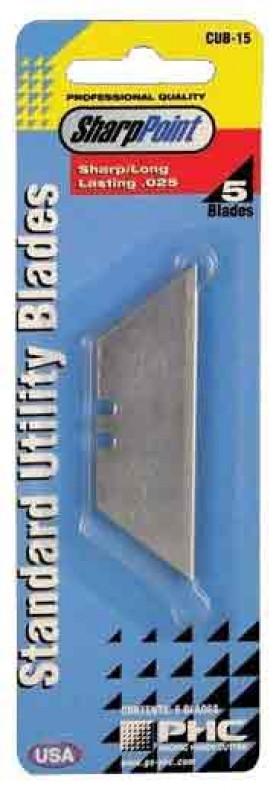 Pacific Handy Cutter CUB-15 Standard Utility Blades