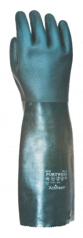 Portwest A845 Double Dipped PVC Gauntlet 45cm