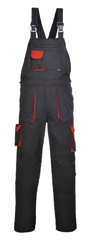 Portwest TX12 Texo Contrast Bib and Brace
