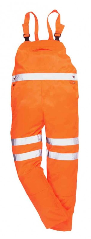 Portwest RT43 Hi-Vis Bib & Brace GO/RT