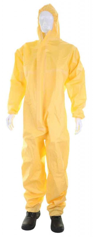 Click Once COC40 Sms Yellow Disposable/Coverall