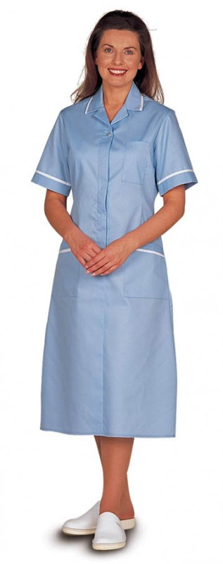 Harpoon 639 Nurses Zip Front Dress