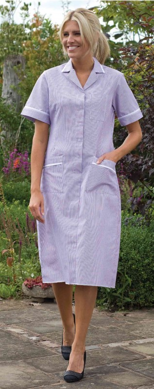 Harpoon 692 Striped Nurses Dress