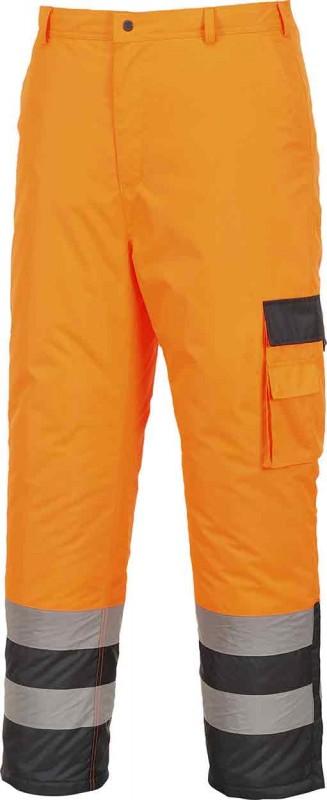 Portwest S686 Hi-Vis Contrast Trousers - Lined