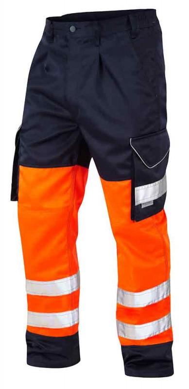 Leo Workwear Bideford Poly/Cotton Cargo Trouser