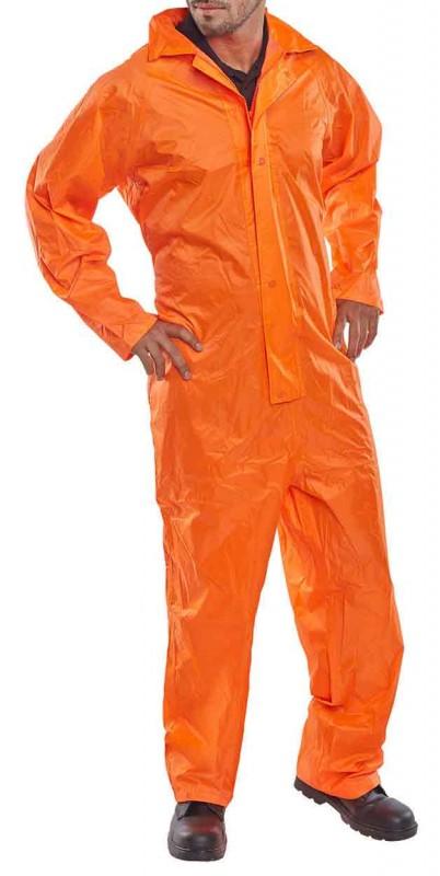 B-Dri NBDC Nylon B-Dri Coverall Orange