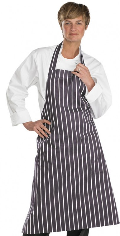 Catering Clobber Striped Butchers Apron
