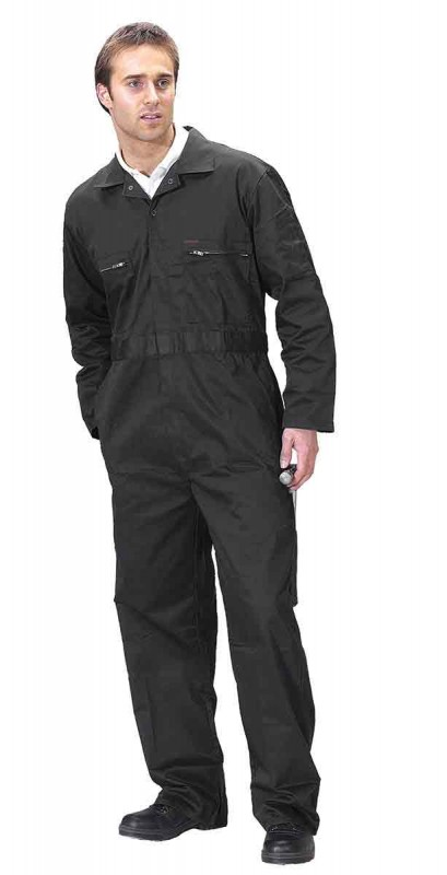 Click PCBSHW Zip Front Poly/Cotton Boilersuit