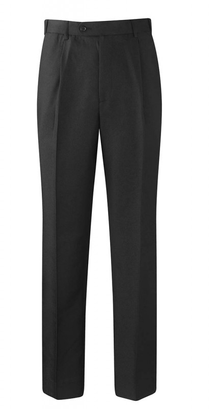 Poly/Wool Tailored Trousers