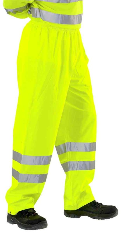 B-Seen PUT471 Super Breathable Hi-Viz Trousers