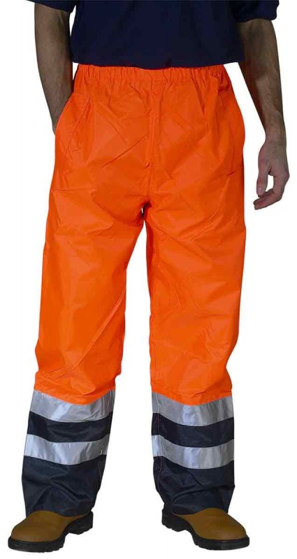 B-Seen BET Belfry Breathable Two Tone Hi-Viz Overtrouser