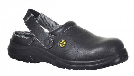 Portwest FC03 ESD Safety Clog SB AE