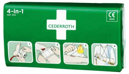 Cederroth CM0735 Cederroth 4 In 1 Bloodstopper