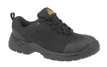 Amblers Steel FS214 Safety Trainer Black