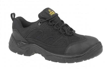 Amblers Steel FS214 Safety Trainer Black