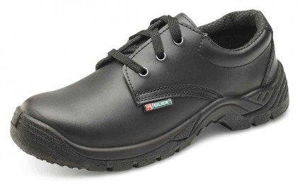 Click CDDSTS Dual Density Smooth Leather Safety Shoe