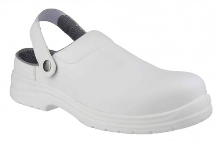 Amblers Safety FS512 White Clog