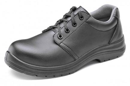 Click CF823 Microfibre Tie Shoe S2 Black