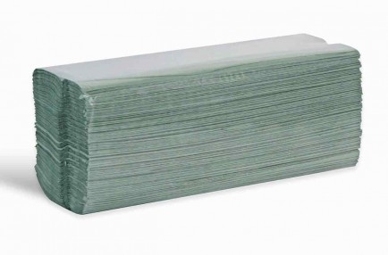 C-Fold 1Ply Hand Towel Green (Box 2640)