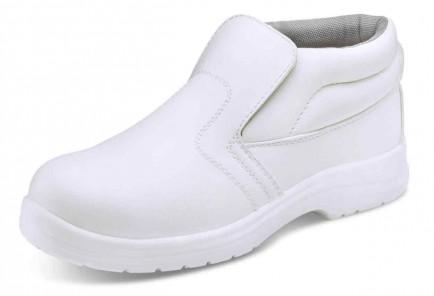 Click CF852 Microfibre Boot S2 White