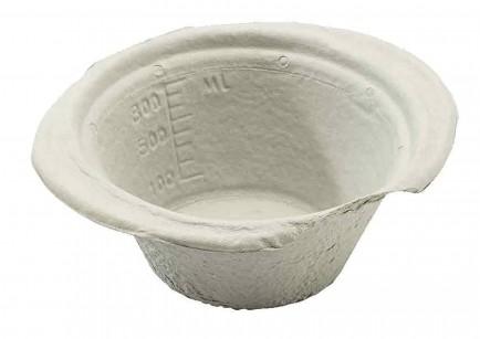 Click Medical CM1719 Disposable Paper Vomit/ General Purpose Bowl 230Mm Box 10
