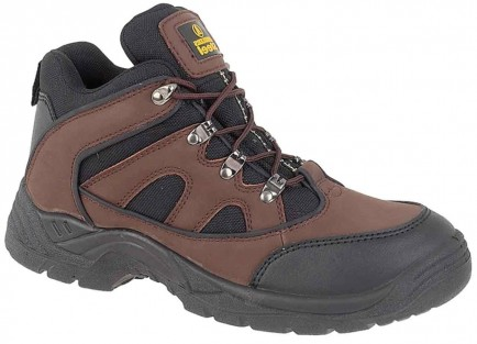 Amblers Steel FS152 SB-P Mid Boot Brown