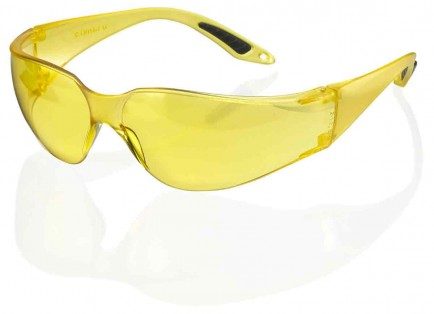 B-Brand BBVSS2Y Vegas Safety Spectacle Yellow Lens