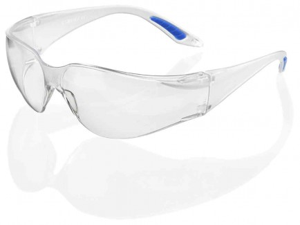B-Brand BBVS Vegas Safety Spectacle Clear Lens