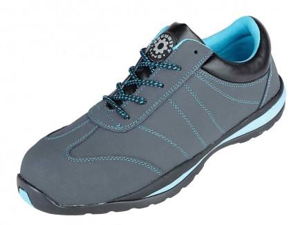 Securityline 4205BK Cardinal Ladies Grey Metal Free Safety Shoe
