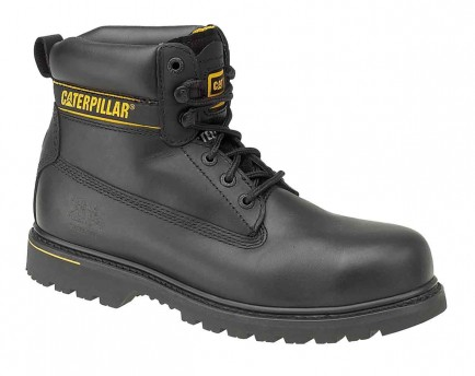 Cat Holton S3 Leather Safety Boot