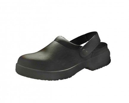 Click A713 Unisex Slipper With Belt Black