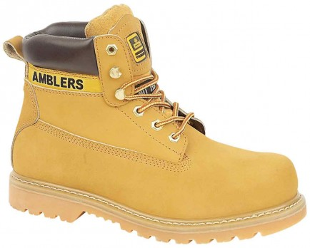 Amblers Steel FS7 Safety Boot Tan