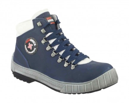 Red Brick Freerunners Smooth Safety Sneakers