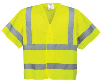 Portwest C471 Hi-Vis Short Sleeved Vest