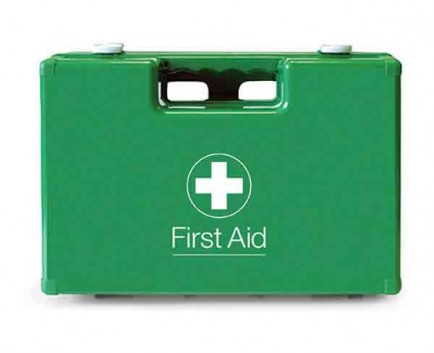 Click Medical CM1027 624B Abs Green First Aid Box 270 X 190 X 120Mm