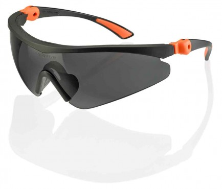Click Traders CTRSS3GY Roma Safety Spec S3 Grey Lens