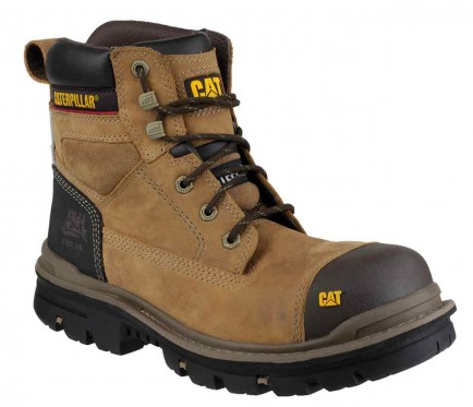 "CAT Gravel 6"" safety boot"