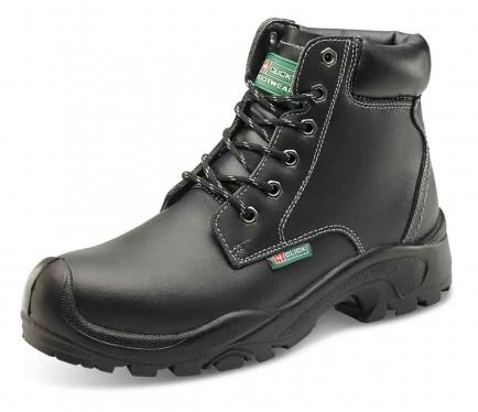 Click CF60BL 6 Eyelet Pur Boot S3 Black
