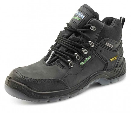 Click CTF30 Waterproof Breathable Safety Hiker Boot Black