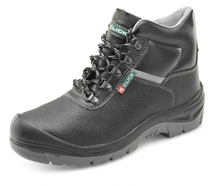 Click CF11BL Dual Density Site Boot S3 Black