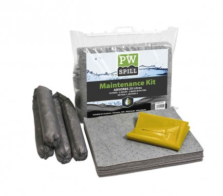 Portwest SM30 Spill Maintenance Kit 20L  Pk6