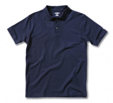 Carhartt EK057 Pique Polo Shirt Navy