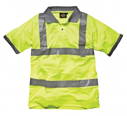 Dickies SA22075 Hi Visibility Safety Polo Shirt
