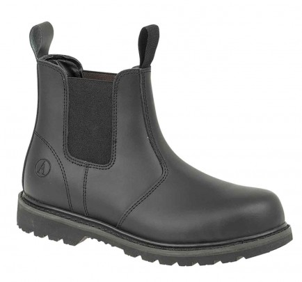 Amblers Steel FS5 Welted Safety Dealer Boot Black