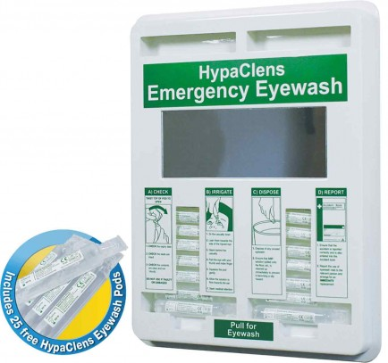 Click Medical CM0706 Hypaclens 20Ml Eyewash Dispenser (Inc 20 Pods)