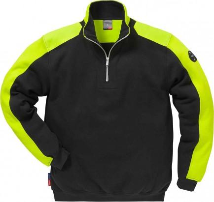 Fristads Sweatshirt With Zip 7449 Rts