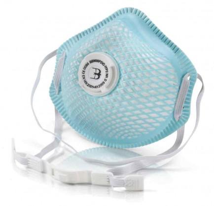 B-Brand Respiratory BBMMP2V B-Brand P2V Mesh Cup Mask