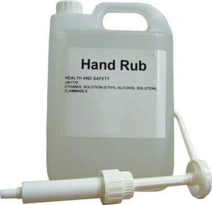ANTASRP Pump  for Alcohol Hand Rub 5 Litre Refill