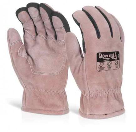 Glovezilla Thermal Leather Glove Pair